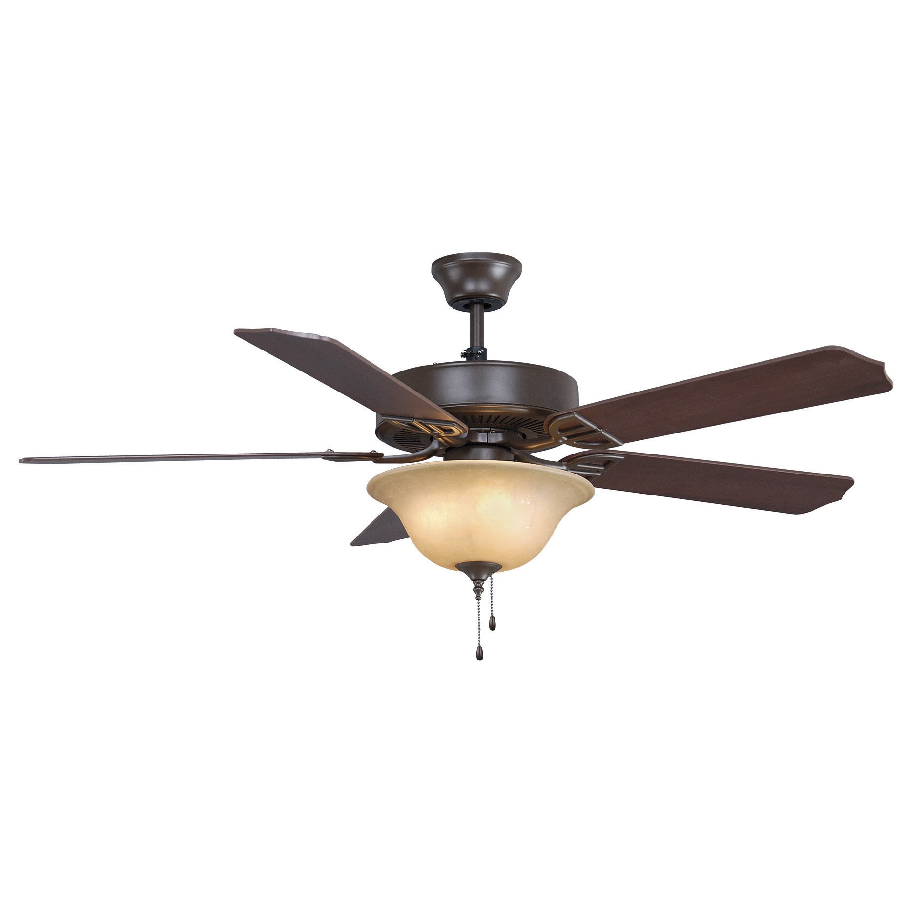 Fanimation Aire Decor 52 inch 4 light Bowl Ceiling Fan Free