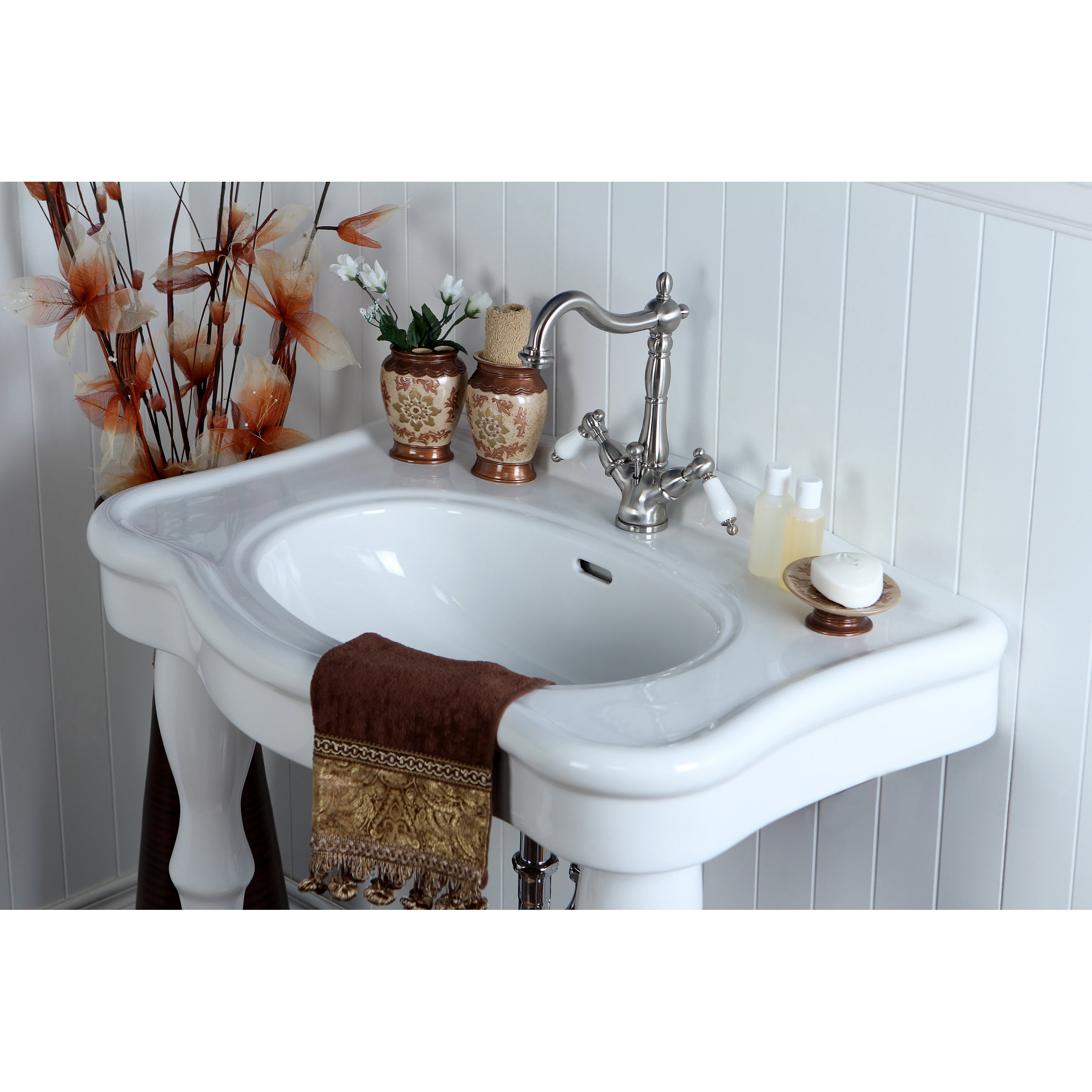 amerisink sink bathroom x product vanity sinks pedestal