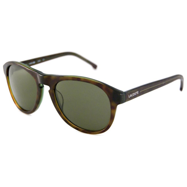 5d2c0b7662 Shop Lacoste Men s  Unisex L608S Aviator Sunglasses - Free Shipping Today -  Overstock.com - 8038308