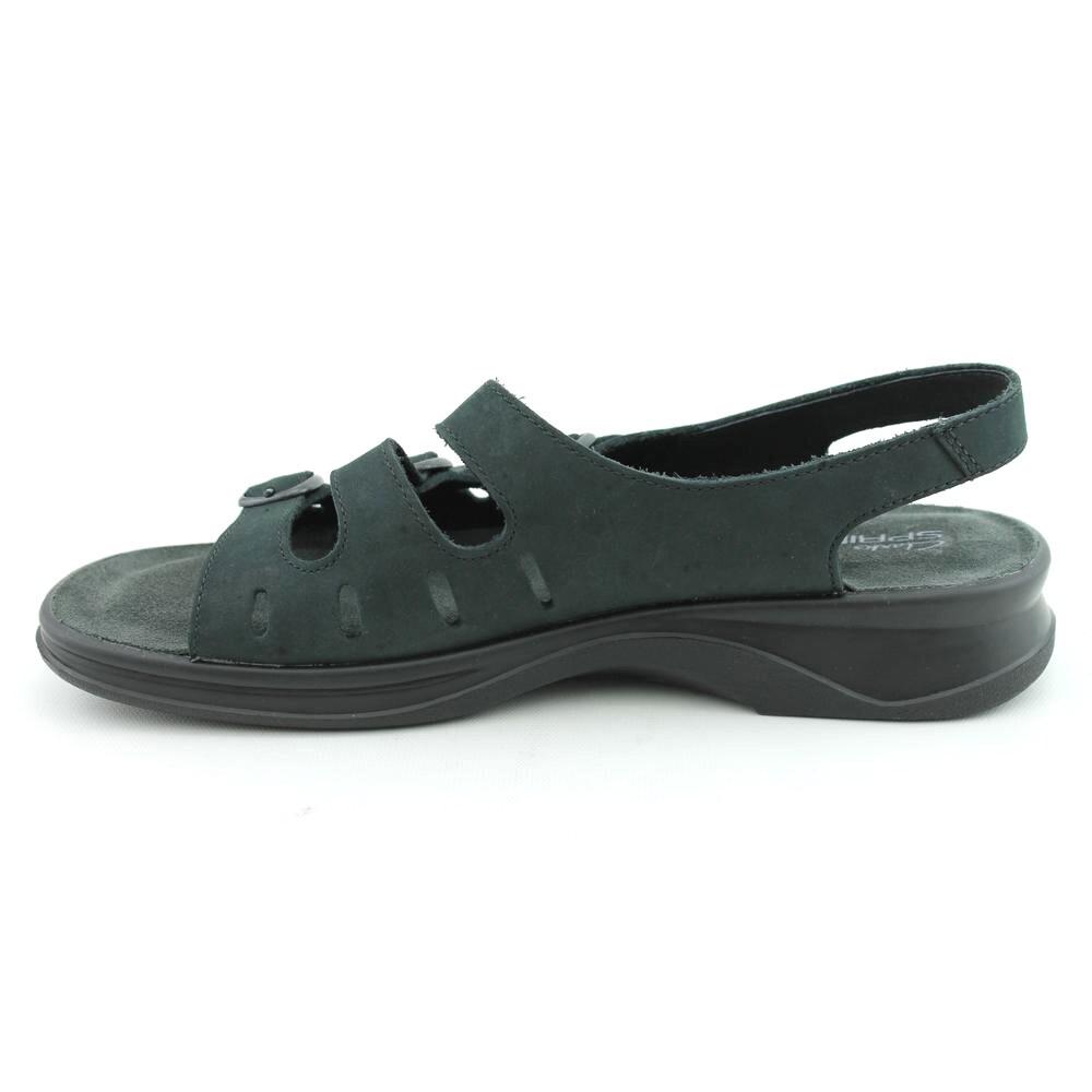 fd8084432750 Shop Clarks Women s  Sunbeat  Nubuck Sandals - Free Shipping On Orders Over   45 - Overstock - 8043044