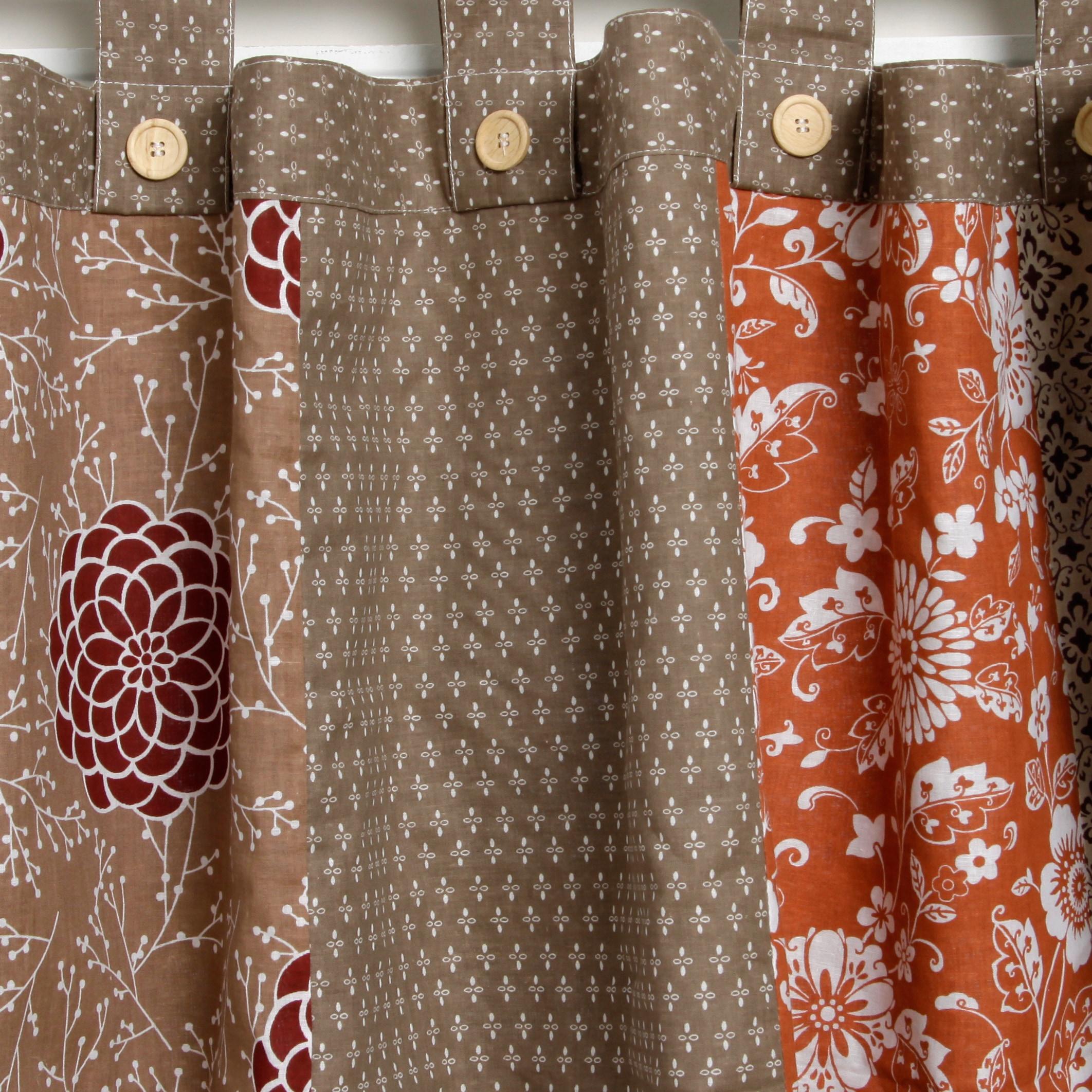 Greenland Home Fashions \u0027Stella\u0027 Patchwork Valance - Free Shipping ...