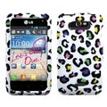 INSTEN Colorful Leopard Phone Case Cover for LG MS770 Motion 4G