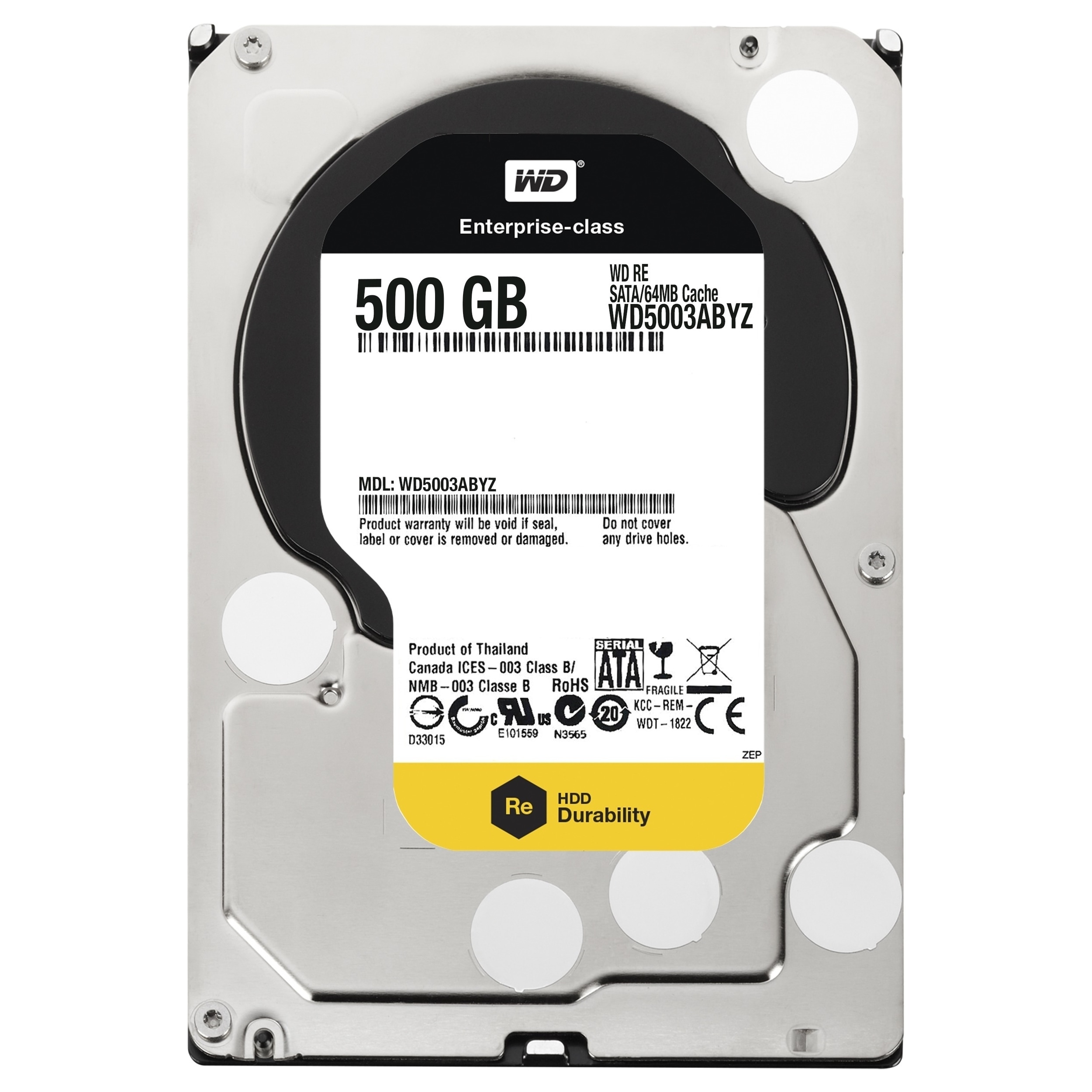 Shop Wd Re Wd5003abyz 500 Gb 35 Internal Hard Drive Sata Free Hardisk Pc 250 Seagate Shipping Today 8060413