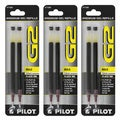 Pilot G2 Premium Retractable Gel Ink Refills Bold Point 1.0 mm Black Ink