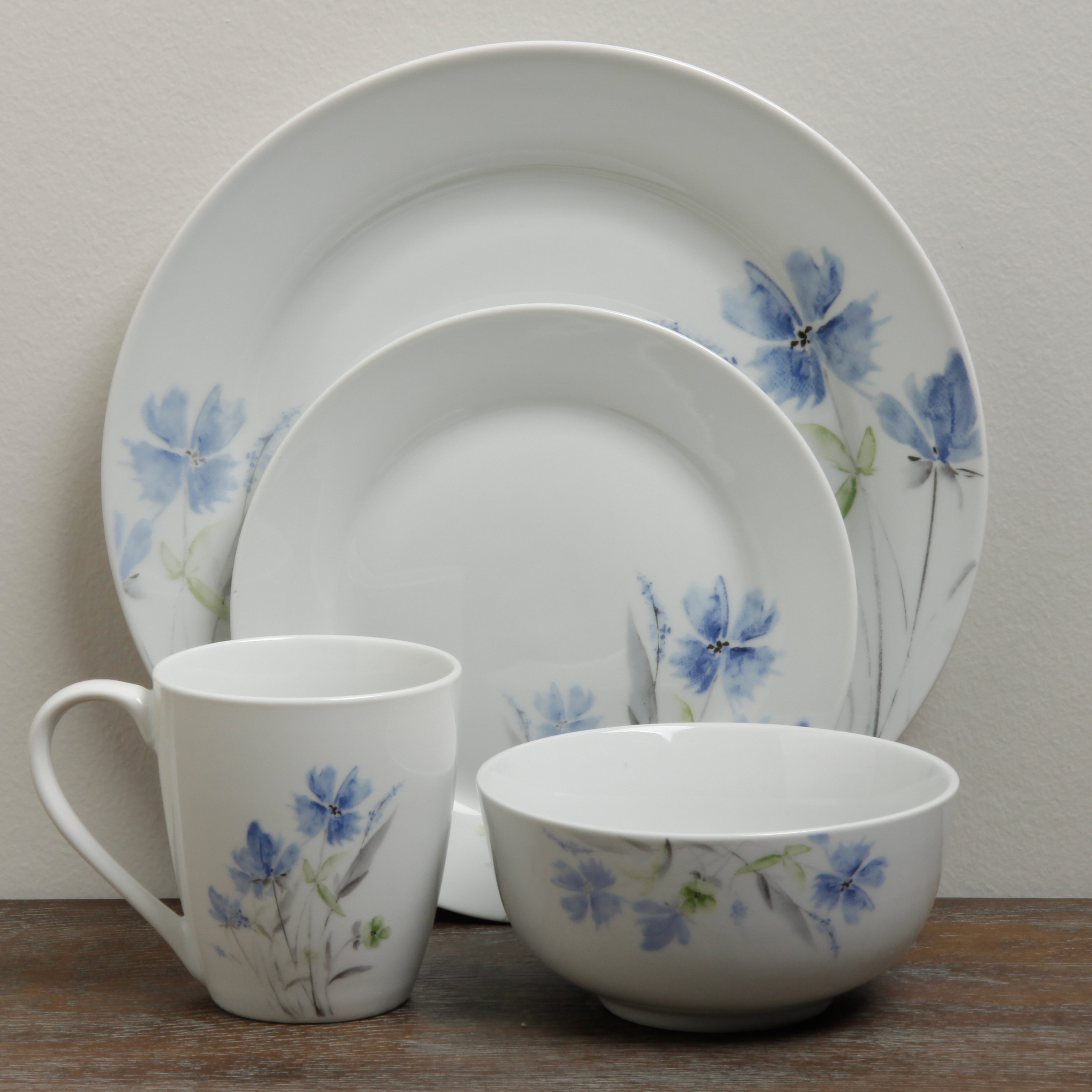 16pc Dinnerware Set - Wildflower - Free Shipping Today - Overstock - 15422062 : gallery dinnerware - pezcame.com