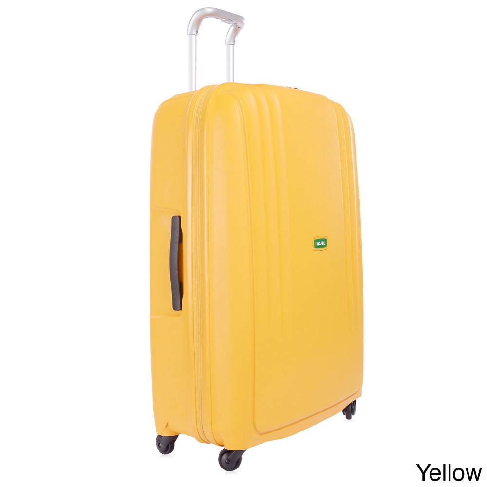 Shop Lojel Streamline Polypropylene 32.5-inch Large Upright Spinner Suitcase - Free Shipping Today -
