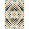 Momeni Baja Kaleidoscope Multicolor Indoor/Outdoor Area Rug (8'6 x 13')