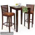 Italy Bar Table and Stools 3-piece Set