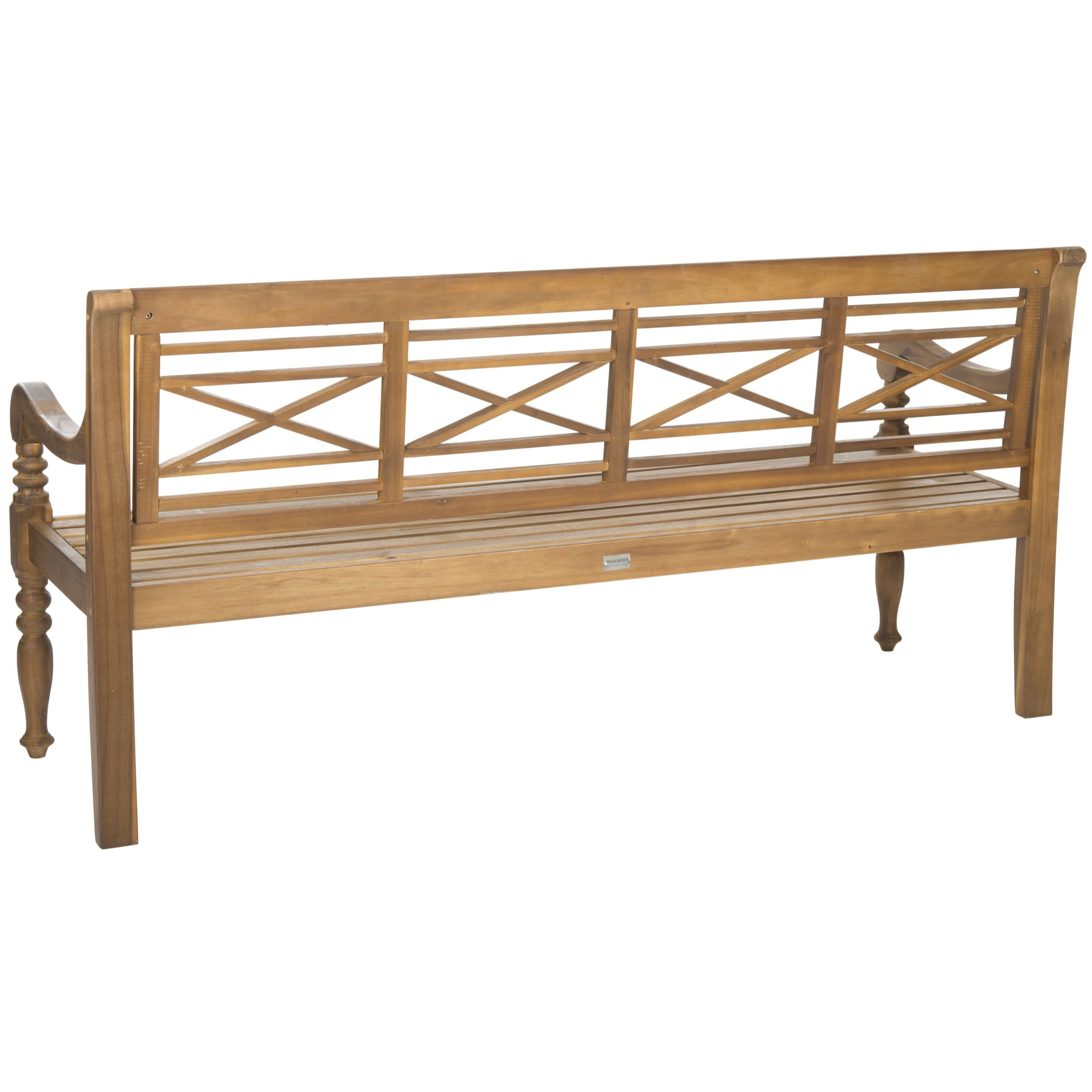 Elegant Wooden Benches for Outside