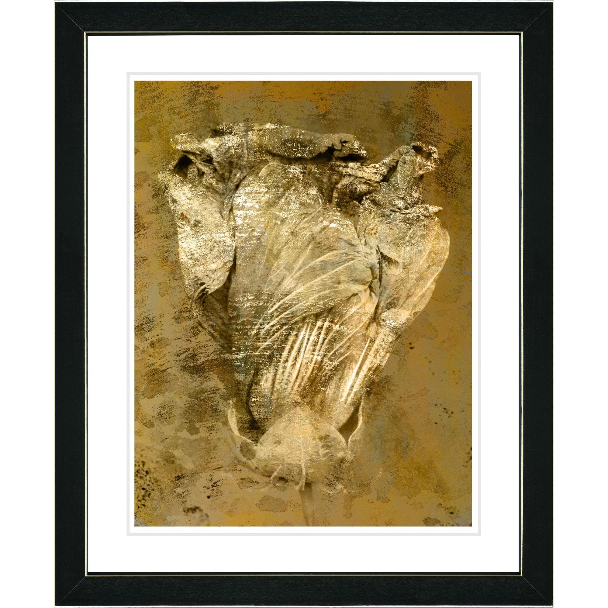 Studio Works Modern \'Dancing Bud - Sepia\' Framed Art Print - Free ...