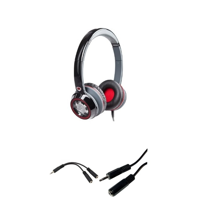 7c7b299260d Shop Monster Power NCredible NTune On Ear Headphones Bundle - Free Shipping  Today - Overstock - 8085858
