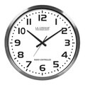 XL 20-inch Atomic Aluminum Clock