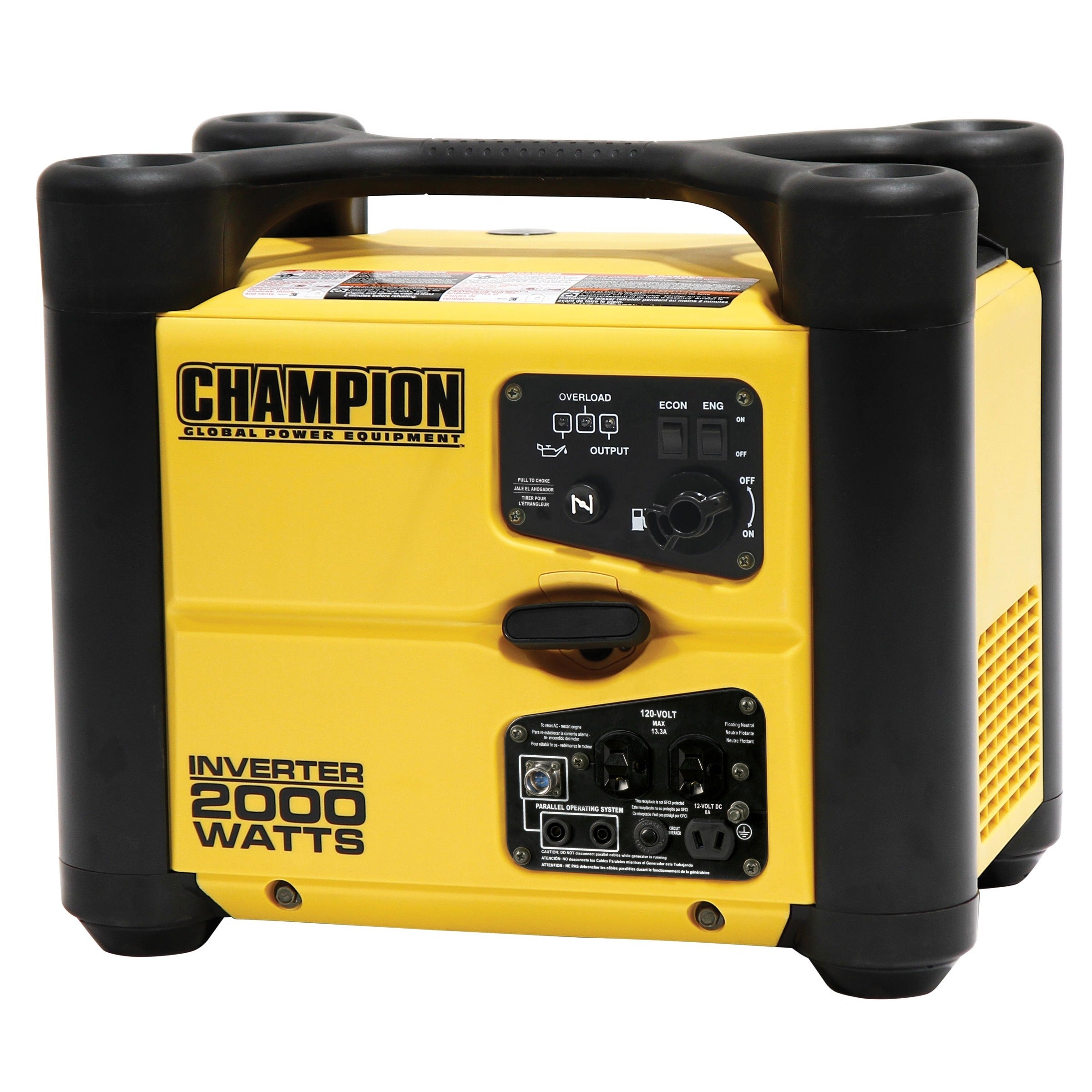 Champion 2000 Watt Stackable Portable Inverter Generator Free