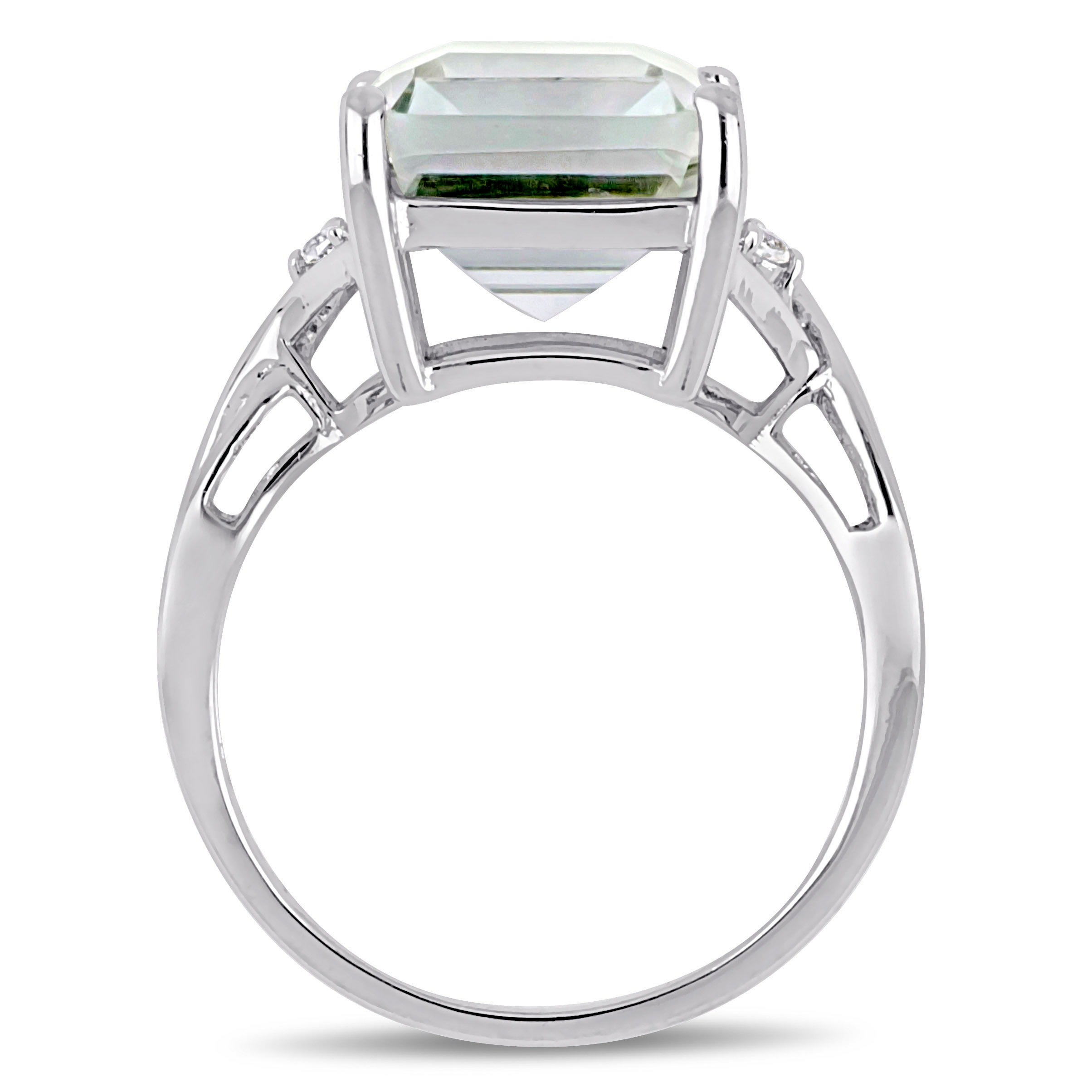 cut them post halo topic rings emerald diamond octagon