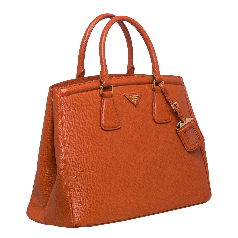 50390a08f9ab coupon code shop prada parabole papaya saffiano leather tote free shipping  today overstock 8095615 7d458 0bc6b ...
