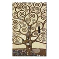 Gustav Klimt 'Tree of Life' Wall Tapestry Hanging
