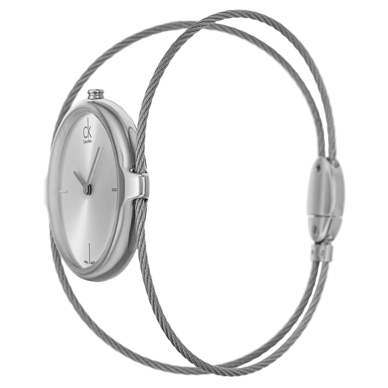 7da5c49407a Shop Calvin Klein Women s  Agile  Stainless Steel Swiss Quartz Watch - Free  Shipping Today - Overstock - 8098994