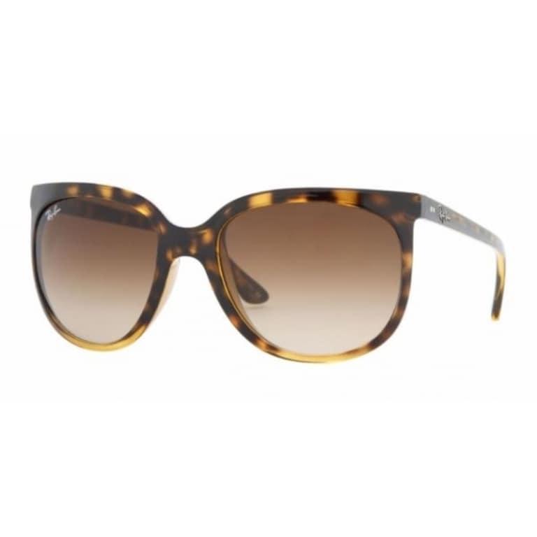 3c4fcadb7e8 Shop Ray-Ban Women s Shiny Black Plastic Sunglasses - Free Shipping Today -  Overstock - 8099576