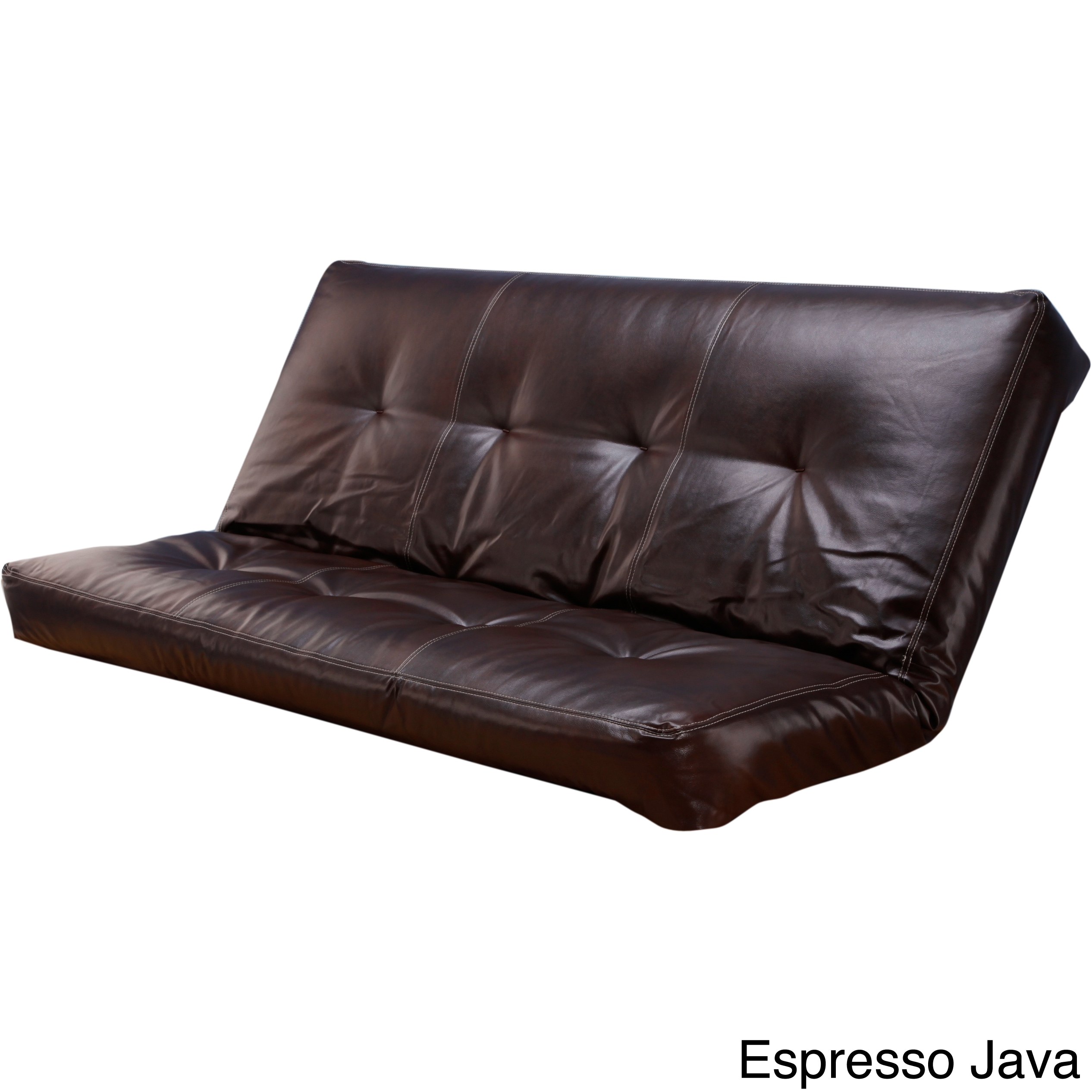 Clay Alder Home Zumbro Bonded Leather Full Size Futon Cover Free Shipping Today Com 8099609
