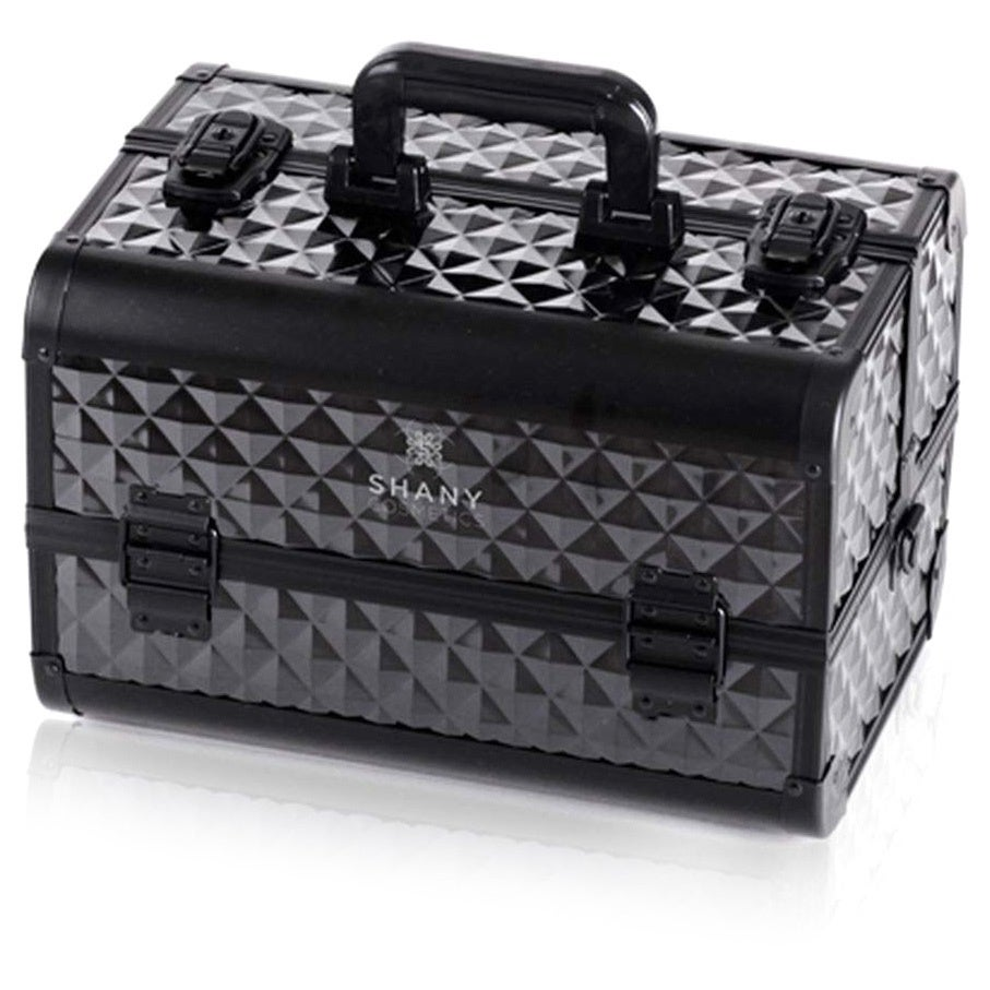 Shop Shany Premium Collection Black Diamond Makeup Train Case (As Is Item) - Free Shipping Today - Overstock.com - 19748397