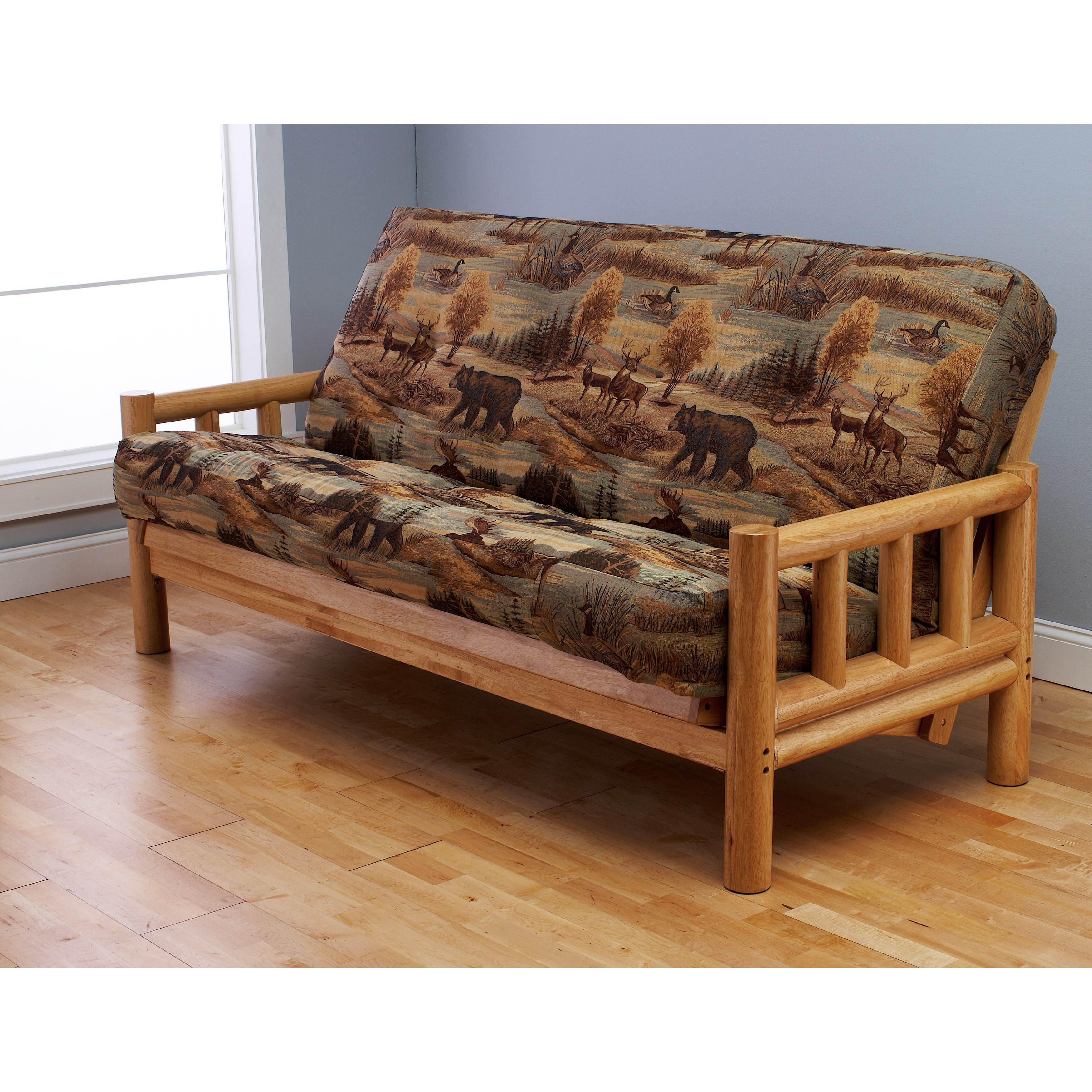 Somette Outdoor Lodge Full Size Futon Cover Free Shipping Today Com 8105380
