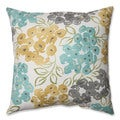 Pillow Perfect Luxury Floral Pool 18-Inch Throw Pillow