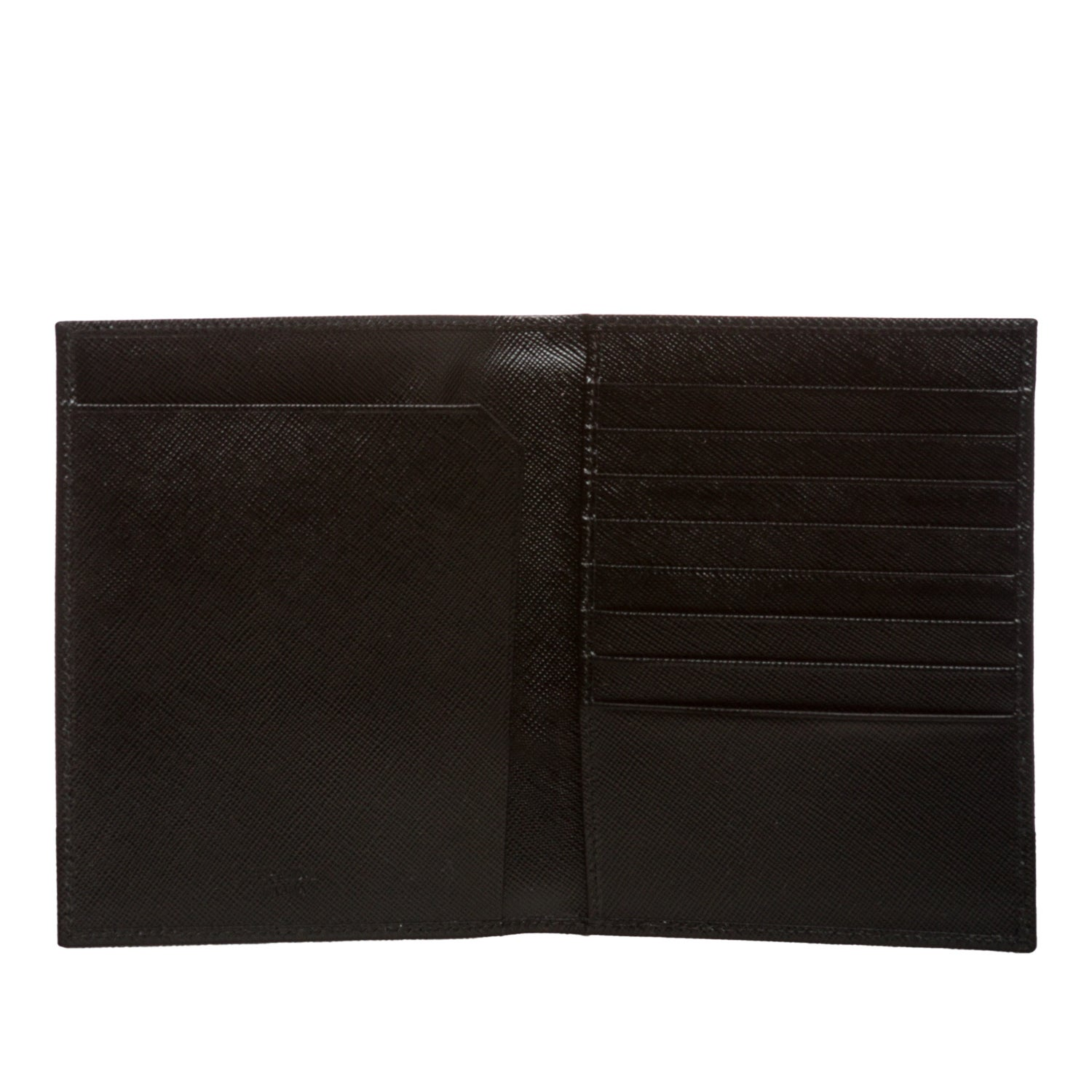 605513af2255 Shop Prada Saffiano Leather Travel Wallet - Free Shipping Today - Overstock  - 8107804