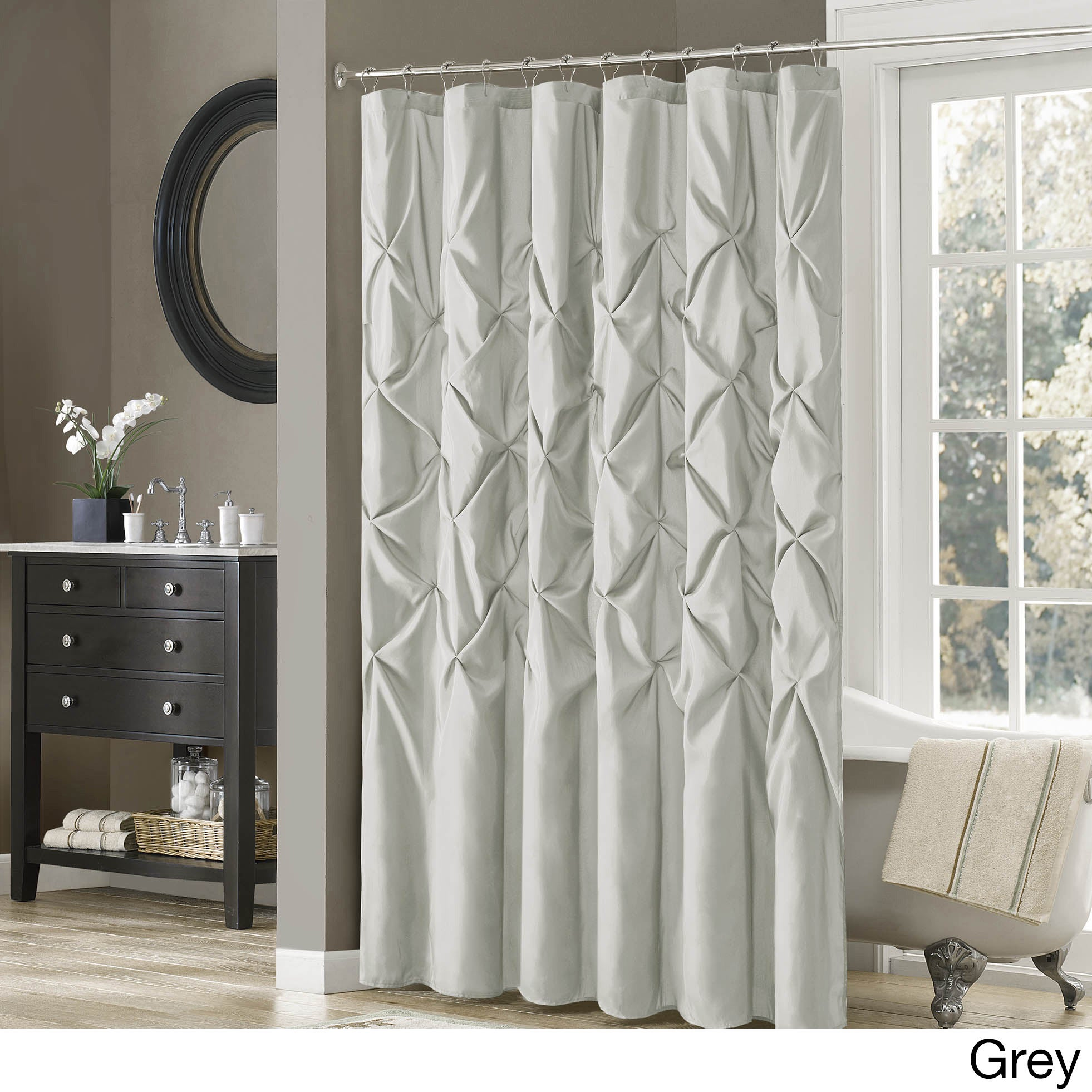 Madison Park Vivian Polyester Shower Curtain - Free Shipping On Orders Over  $45 - Overstock.com - 15459539