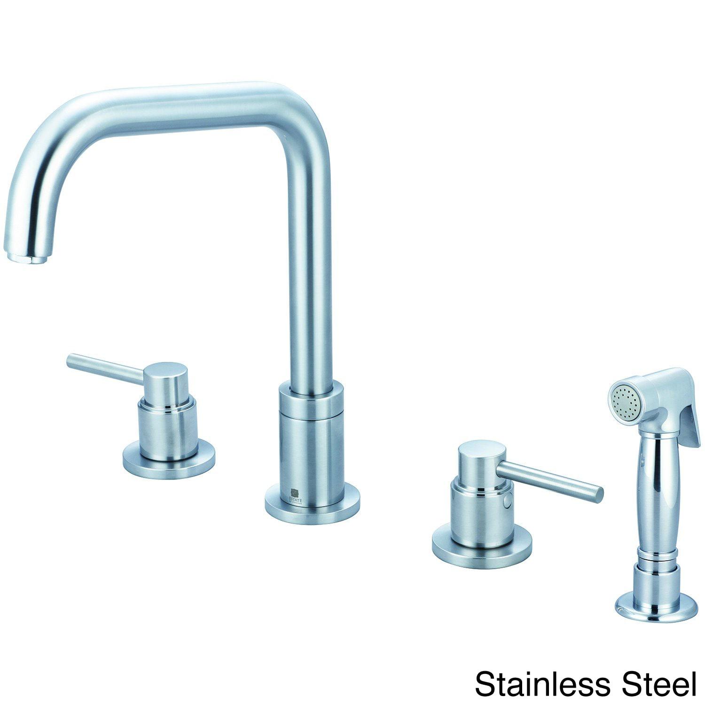 Shop Pioneer Motegi Series 2-bandle Kitchen Widespread Faucet - Free ...