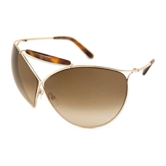 b136066d34 Shop Tom Ford Women s TF0220 Veruschka Oversize Sunglasses - Free ...