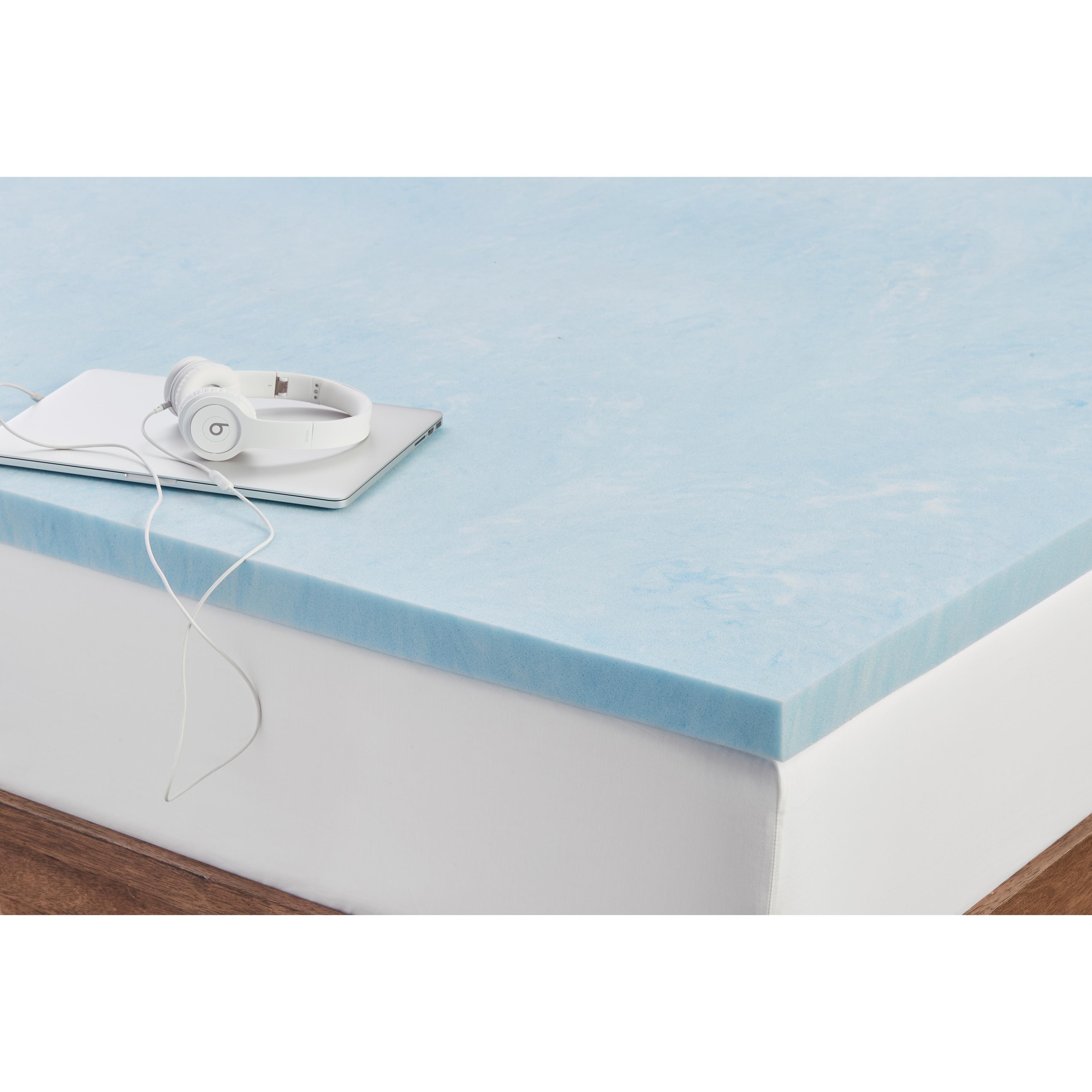 product topper inch mattress dual sleep foam fiberfill and category layer gel nav toppers cover innovations memory plush with