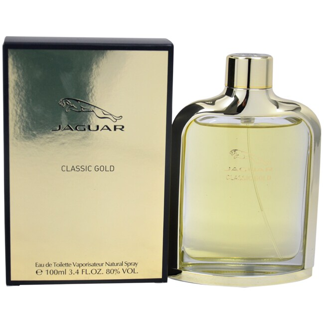 Shop Jaguar Classic Gold Mens 34 Ounce Eau De Toilette Spray