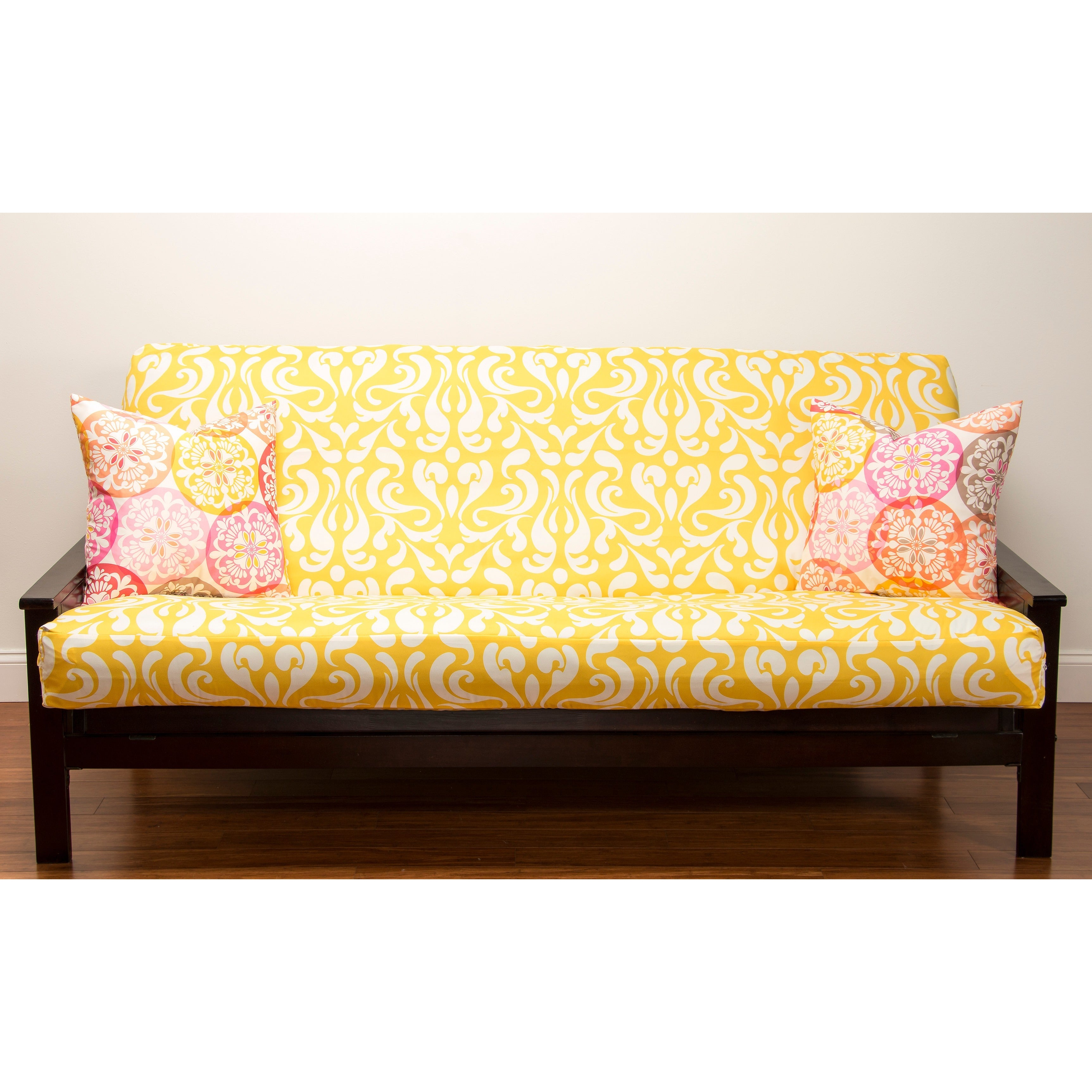 Adele Yellow Futon Cover Free Shipping Today Com 8142004