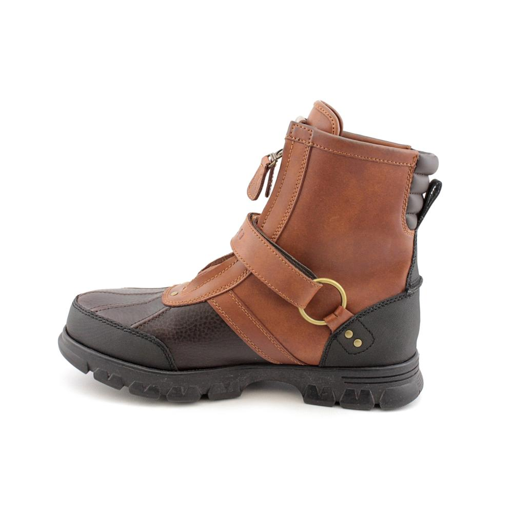 13 Lauren Leather Bootssize Ralph 'conquest 2' Polo Hi Men's 80nkwPO