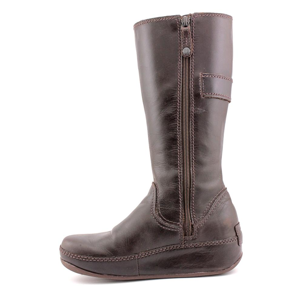 c22af67a029c Shop FitFlop Women s  Hooper Tall   Leather Boots (Size 5 ) - Free Shipping  Today - Overstock - 8144476