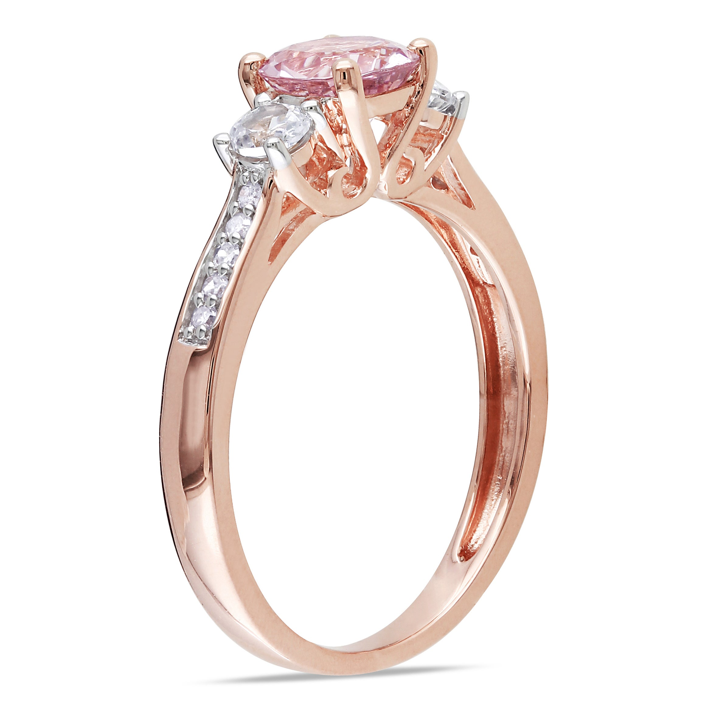 rings shank g today product split jewelry morganite tw h watches rose gold ring pink overstock free and shipping cut diamond