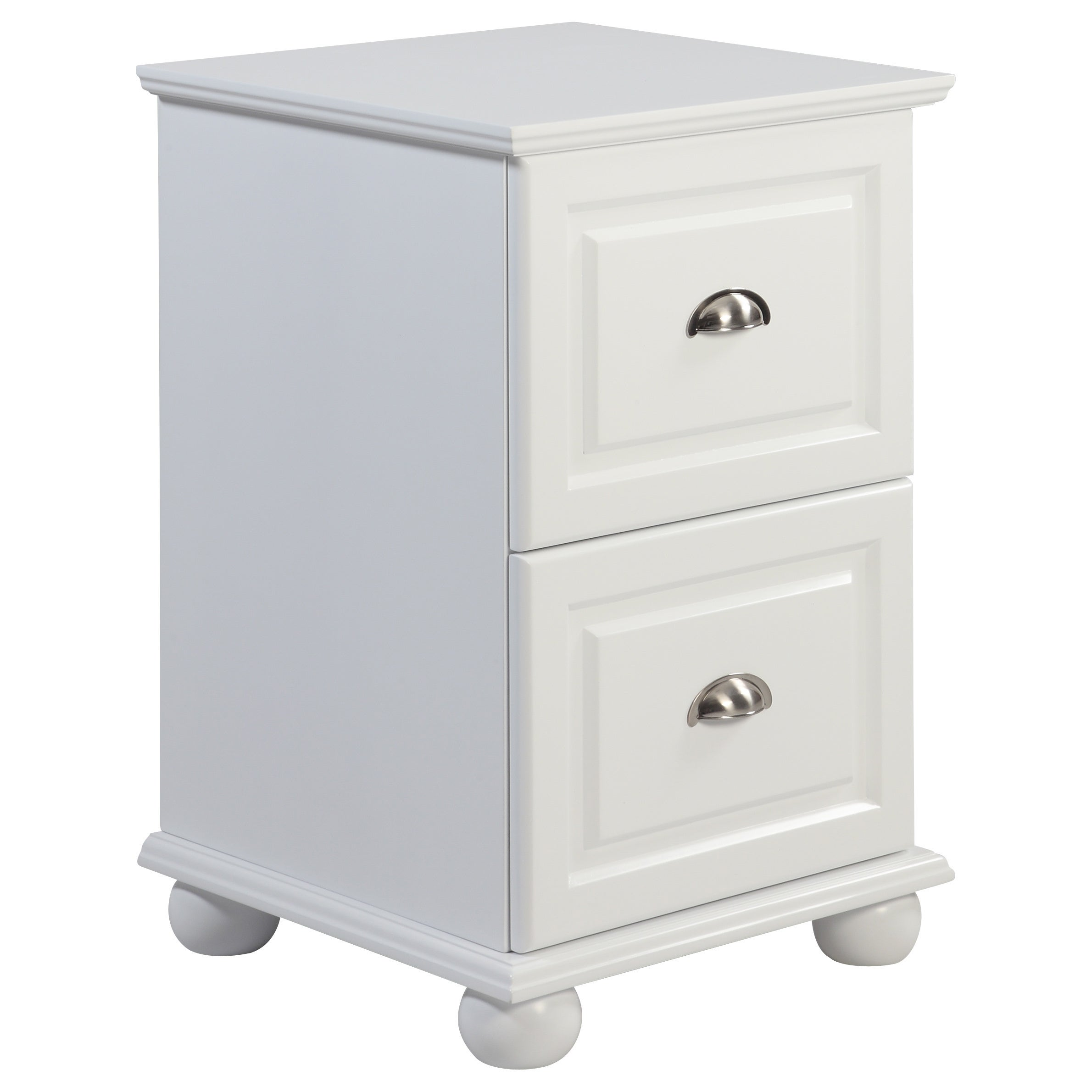 underbed of white pair drawers storage drawer