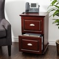 Copper Grove Du Lac Two Drawer Espresso Storage Cabinet
