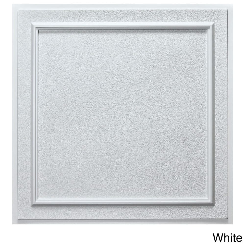 Udecor Terrace 24 Inch Ceiling Tiles Pack Of 10