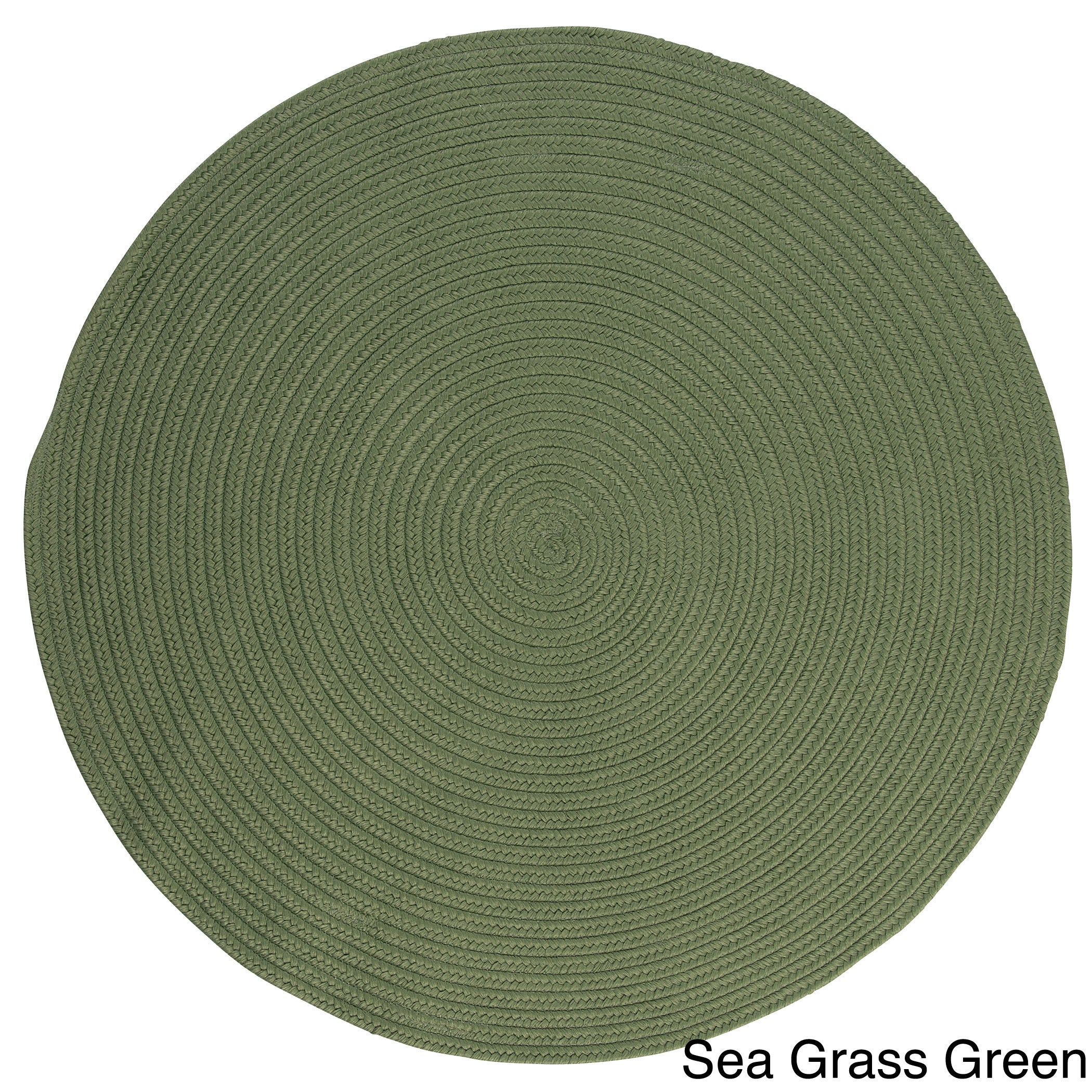 Anywhere Round Reversible Indoor Outdoor Rug 6 x 6 6 x 6