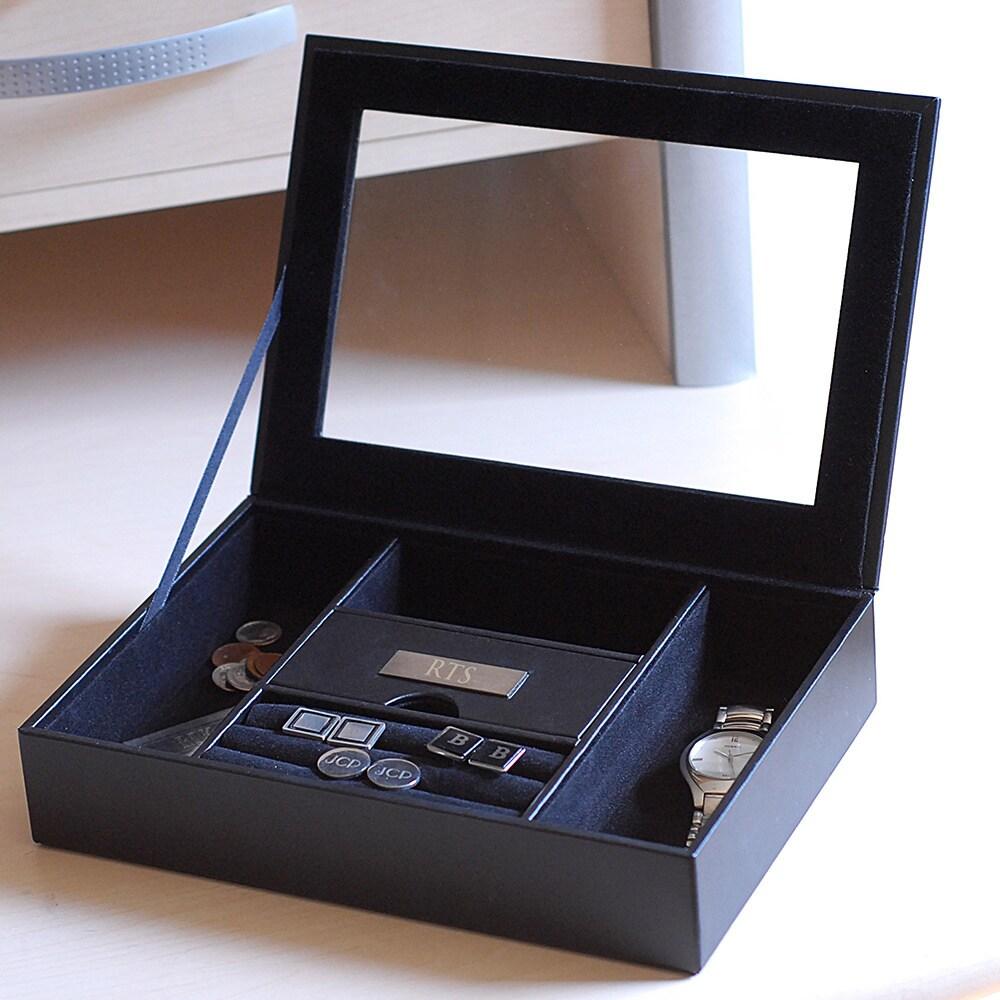 Men's Personalized Valet Box