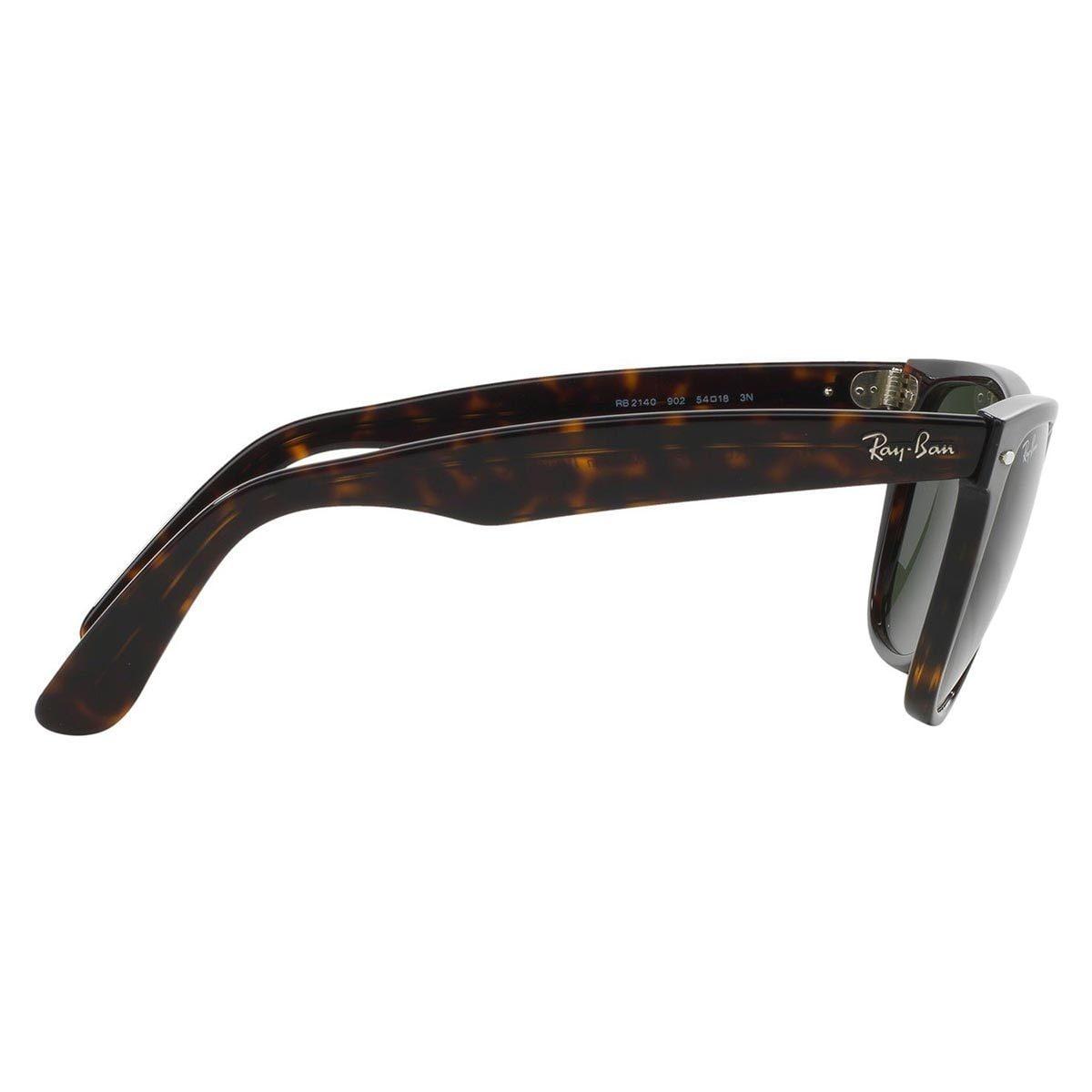 34ed989b6bf Shop Ray-Ban Men s Original Wayfarer Tortoise Sunglasses - Free Shipping  Today - Overstock - 8171958