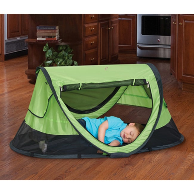 KidCo PeaPod Plus Kiwi Travel Bed - Free Shipping Today - Overstock.com - 15513987 & KidCo PeaPod Plus Kiwi Travel Bed - Free Shipping Today ...