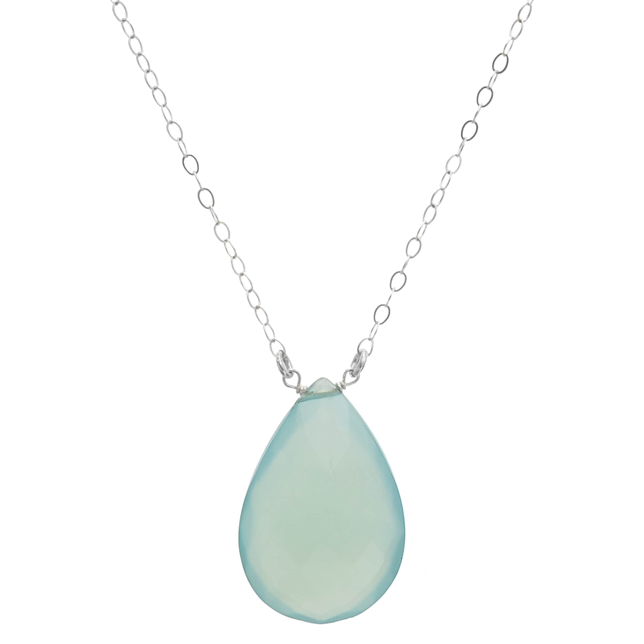 blue sterling jewellery rare silver chalcedony the joma necklace pendant