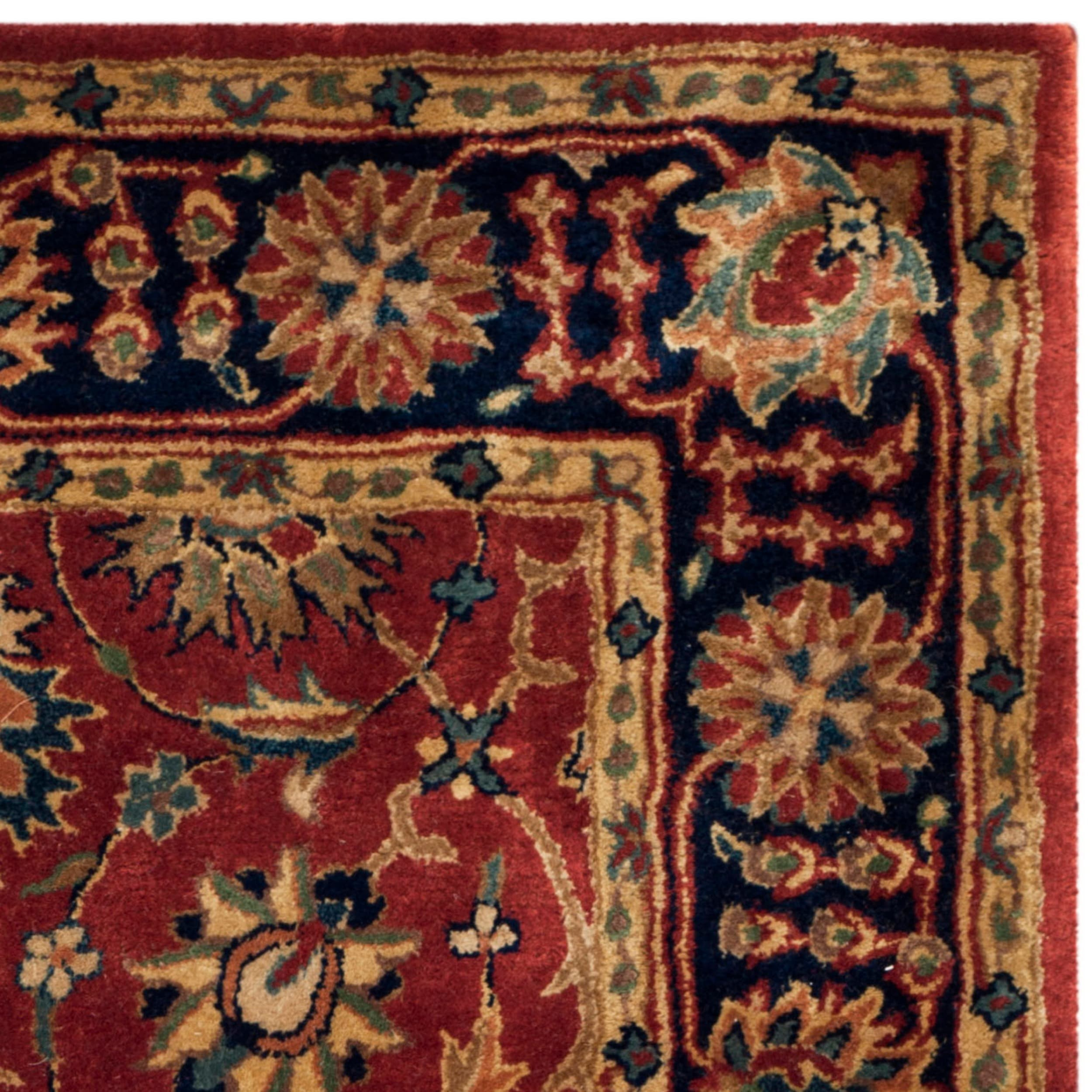 Safavieh Hand made Persian Legend Rust Navy Wool