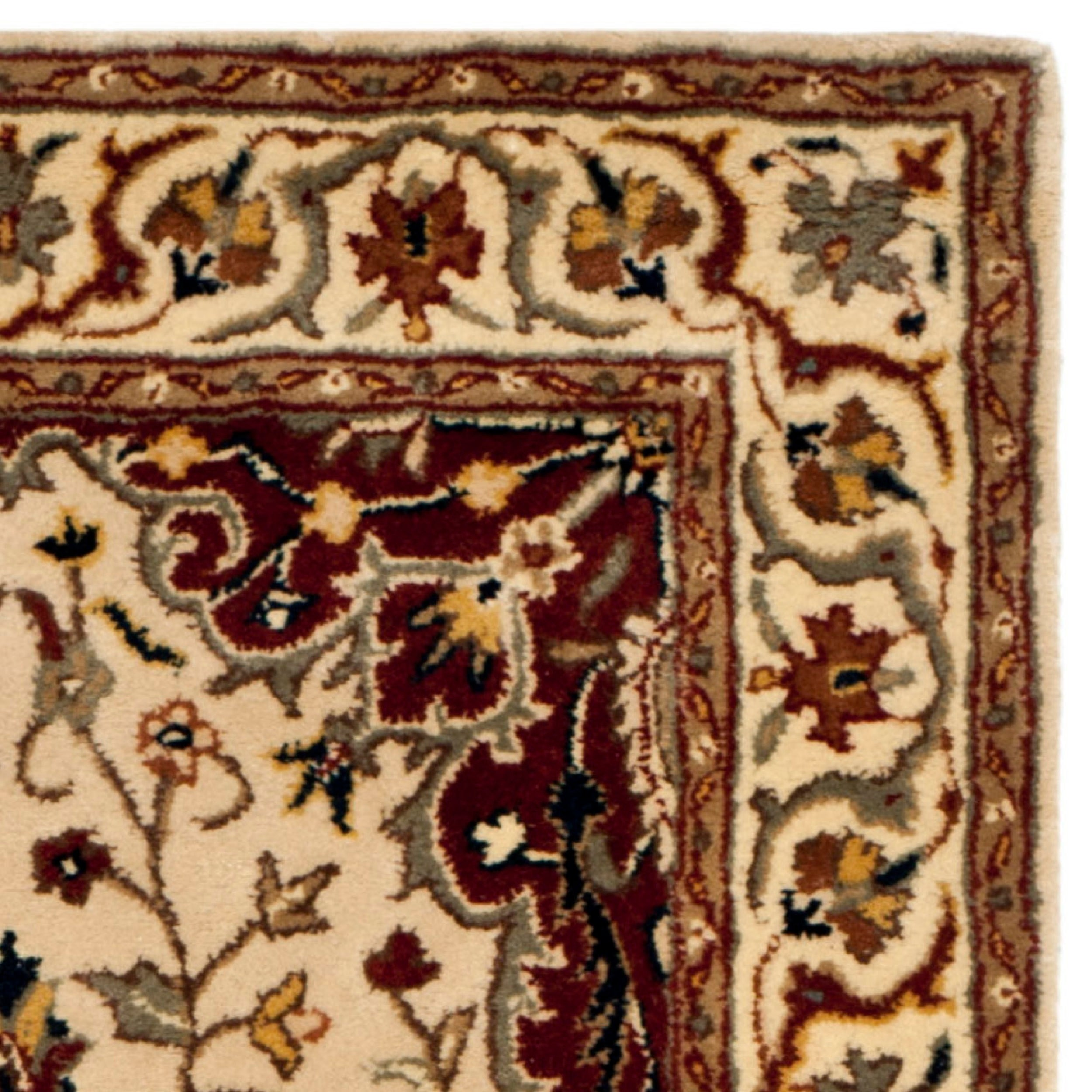 Safavieh Hand made Persian Legend Ivory Ivory Wool