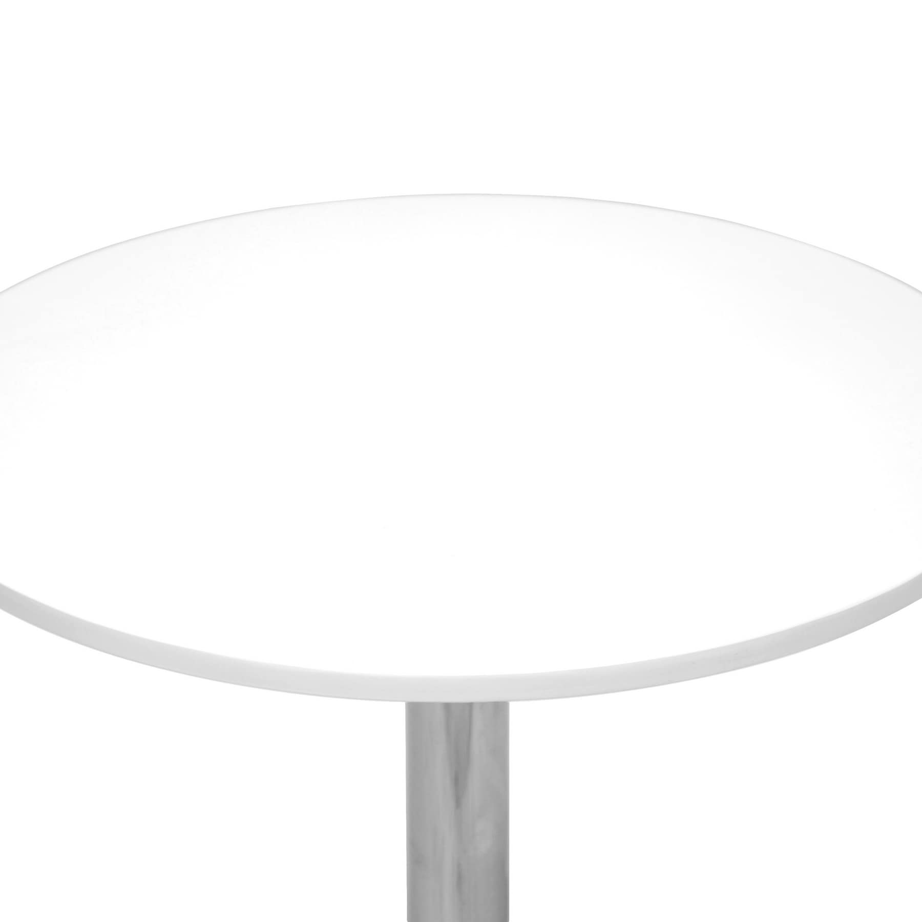 Shop Ji Small White Modern Bistro Table   Free Shipping Today    Overstock.com   8207057