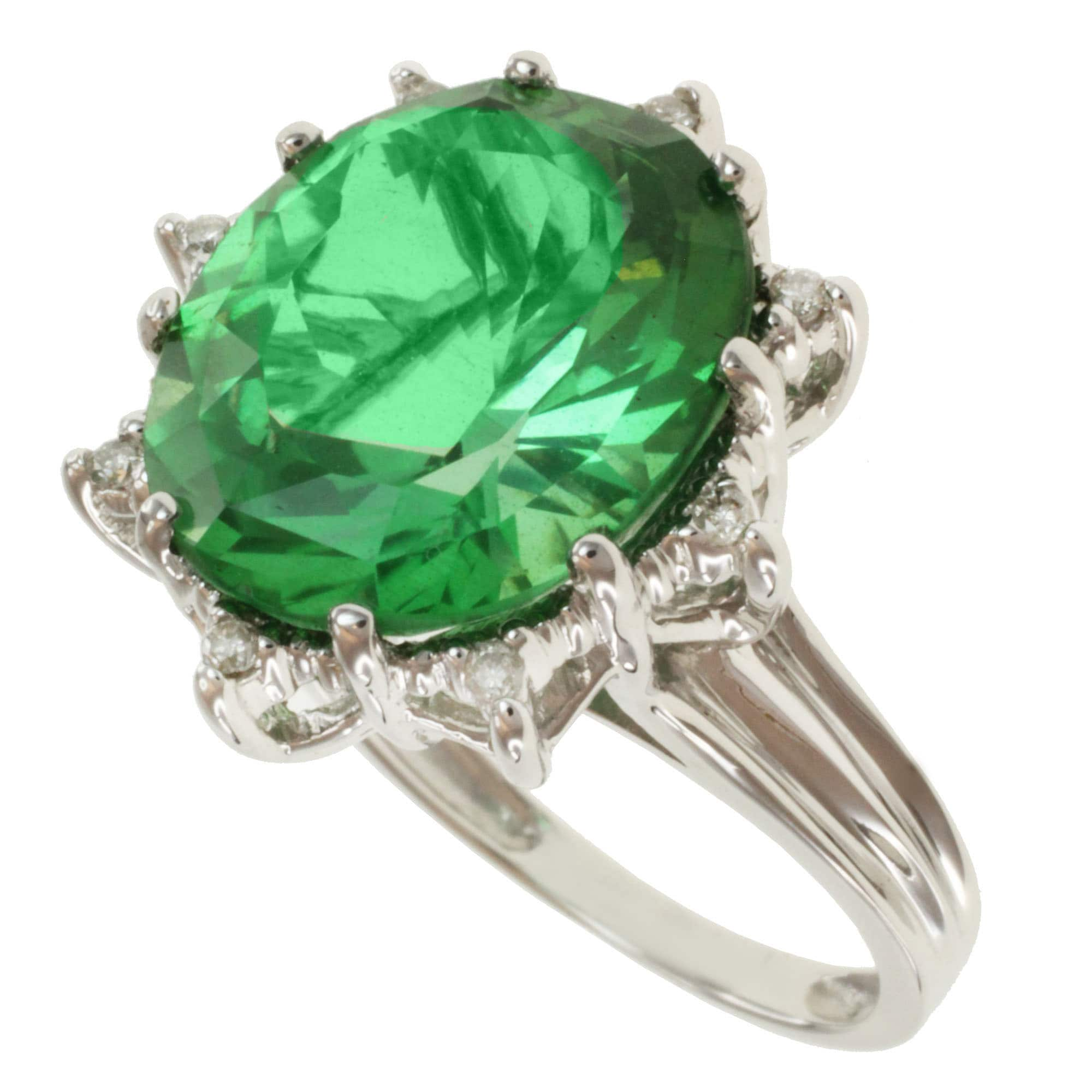 and diamond paolo an ring tourmaline products rings alt costagli green