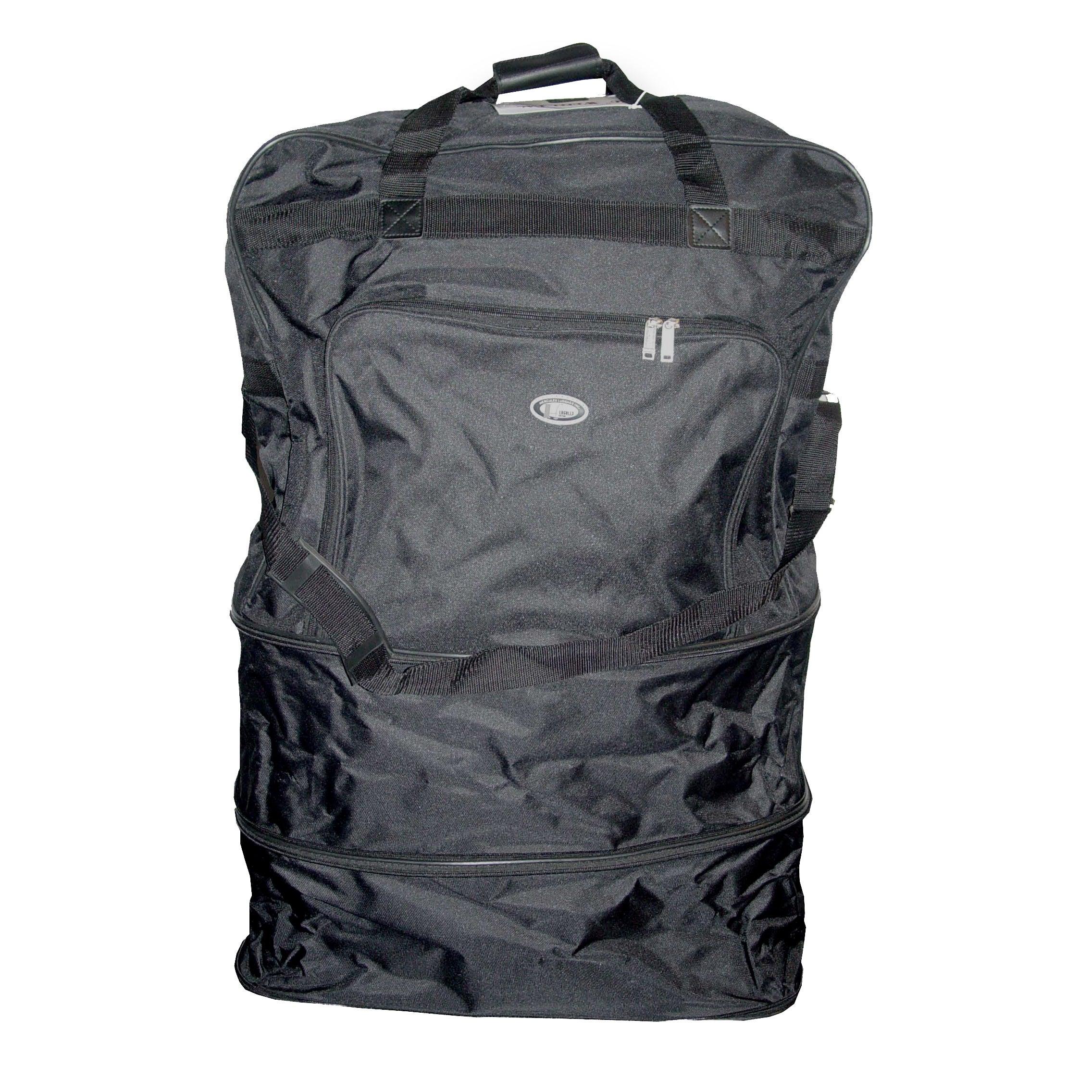eafc053cbcb0 Shop Black Heavy Duty Polyester 40-inch Wheeled Bag - Free Shipping ...
