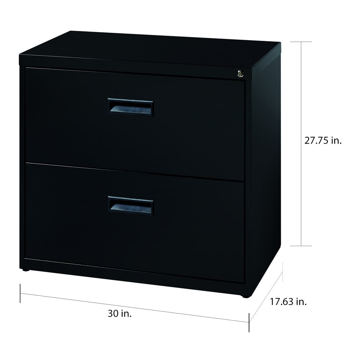 E Solutions 30 Wide 2 Drawer Office Lateral File Cabinet Black Free Shipping Today 8225518